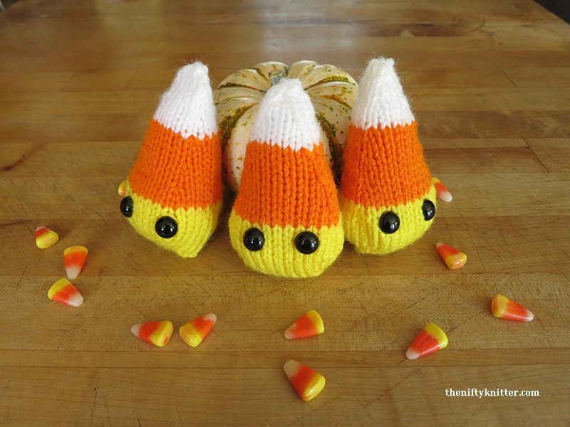 Adorable Knit Candy Corn