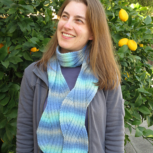 Flow State Scarf Pattern