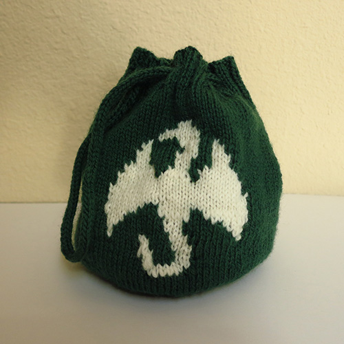 Dragon Pouch or Dice Bag Pattern
