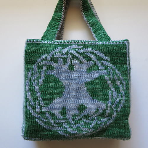 Celtic Tree of Life Bag Pattern