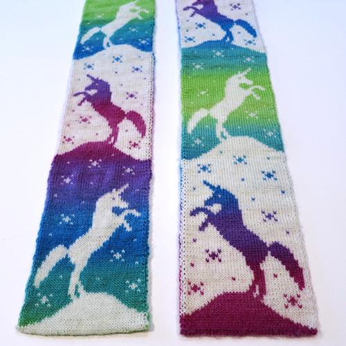 Magic Unicorn Scarf Pattern