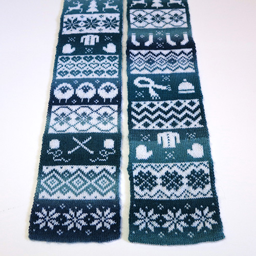 Knit Season Scarf