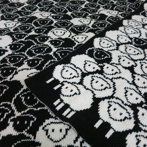 Counting Sheep Blanket Pattern