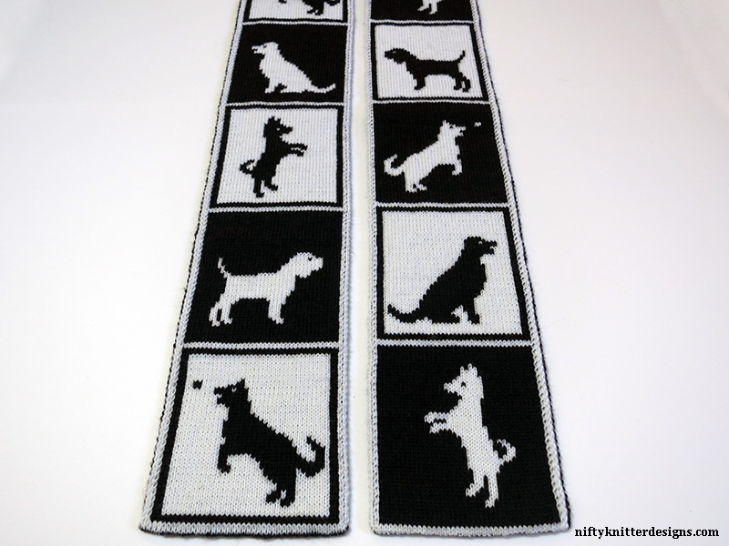 Dogs in Boxes Scarf
