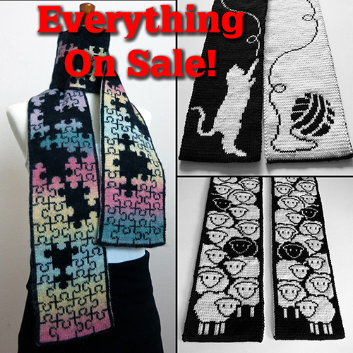 Labor Day Sale on Ravelry and Etsy Through September 3!