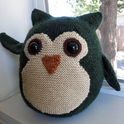 Giles the Owl Pattern