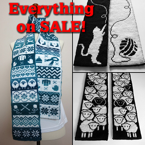 Thanksgiving/Black Friday SALE on Ravelry!