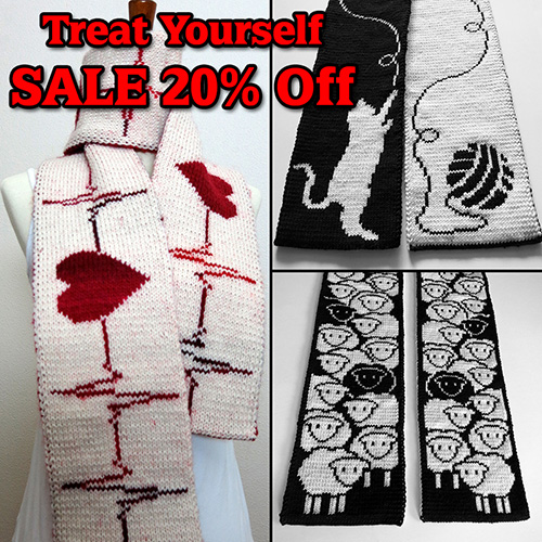 Treat Yourself Sale – 20% OFF on Ravelry!