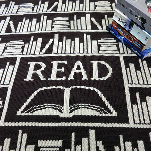 Book Lover Blanket Pattern