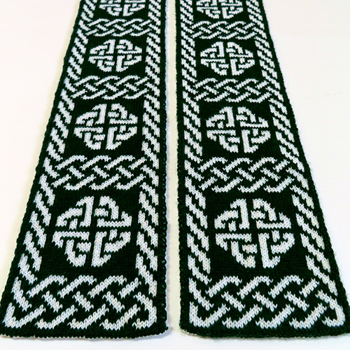 Celtic Ward Scarf Pattern