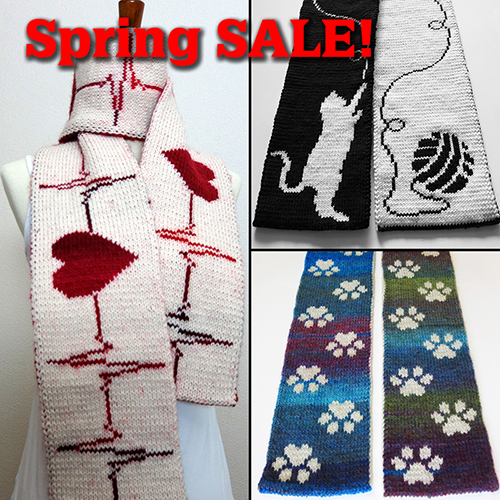 Spring SALE on Ravelry!