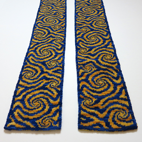 Whirl Scarf – 20% Off on Ravelry!