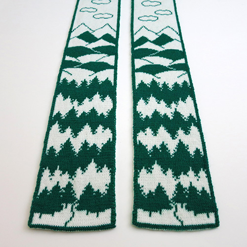 Into the Woods Scarf – 20% Off on Ravelry!