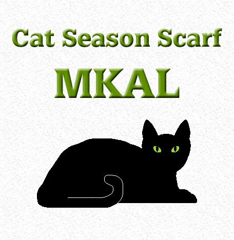 Cat Season Scarf MKAL
